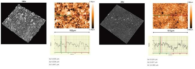 nikon metrology industrial microscopes white light interferometric microscope Surface roughness of ceramics BW Series