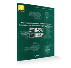 Microscope components for fluorescence illumination and transmitted light applications