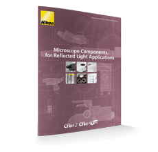 Microscope components for reflected light applications