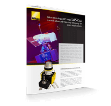 Nikon Metrology iGPS helps LASR Lab research advanced trajectory following for space applications.