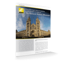 Nikon Metrology's micro-CT scanning unveils mysteries of nature at the natural history museum