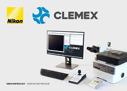 CLEMEX image analysis on NIKON microscopes
