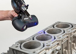 Nikon Metrology UK Laser Scanning Online Demonstration Service