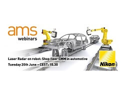 WEBINAR: Shop floor CMM inspection with Laser Radar - 20/06/17