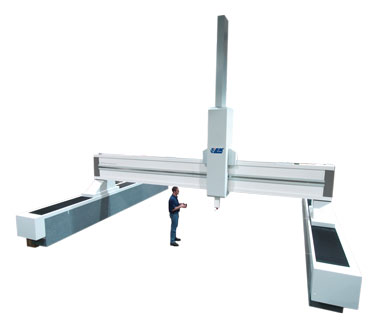 High accuracy gantry CMM