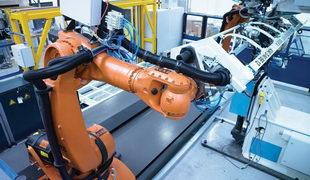 Control de robot adaptable