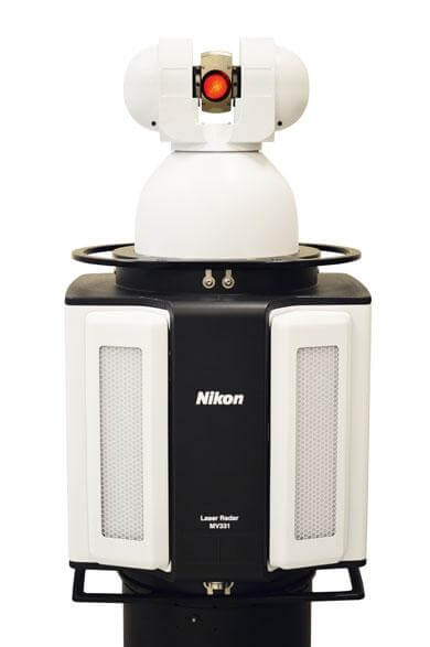 nikon metrology laser radar MV331