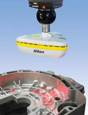 nikon metrology XC65Dx full 3D capture