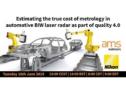 Estimating the true cost of metrology in automotive BIW Laser Radar as part of Quality 4.0